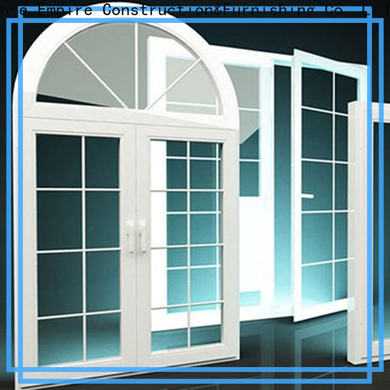 Digah good choice commercial aluminum window frames in different color for villas