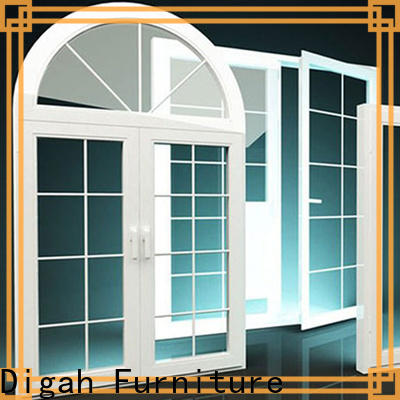 Digah competitive price aluminum windows and doors design in different color for offices