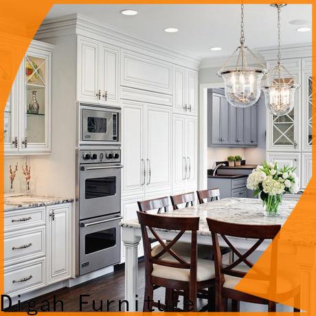 Digah elegant pre built kitchen cupboards for decorating