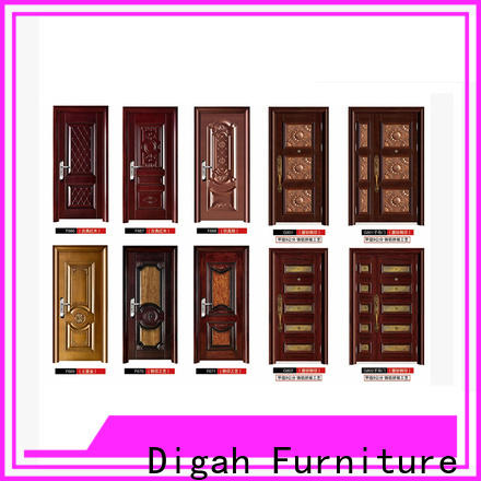 long service life metal door door factory price for bathroom