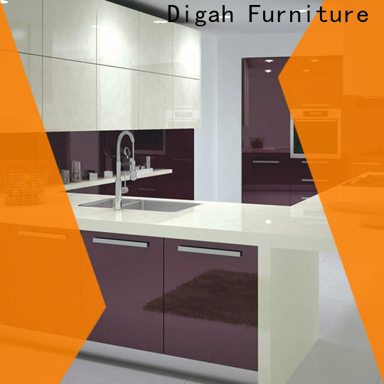 Digah easy to clean kit cabinets for kitchen