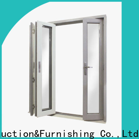 Digah windproof aluminium front doors certification for balcony