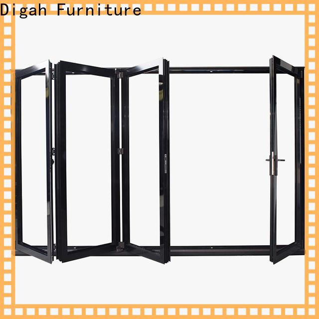 Digah fireproof aluminium front doors vendor for living room