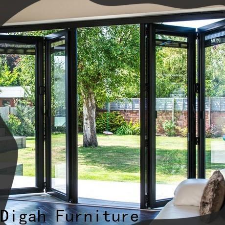 Digah aluminium aluminium patio doors certification for balcony