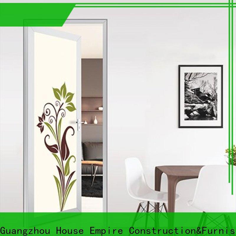Digah elegant aluminium front doors vendor for dining room