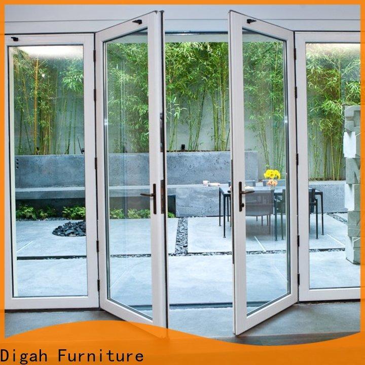 Digah folding aluminium doors prices certification for dining room